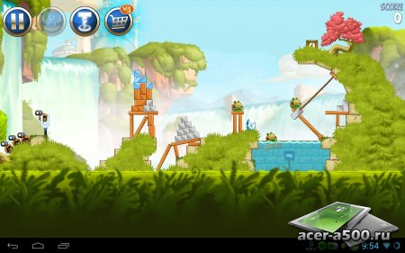Скачать Angry Birds: Star Wars II на Android