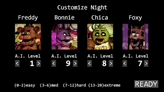 Скриншот Five Nights at Freddys