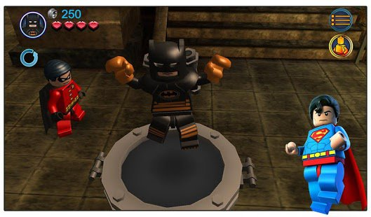 Скриншот LEGO Batman: DC Super Heroes
