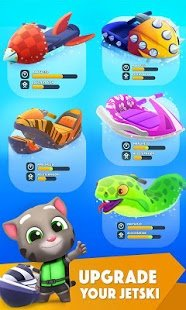 Скриншот Talking Tom Jetski 2