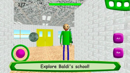 Скриншот Baldi's Basics in Education