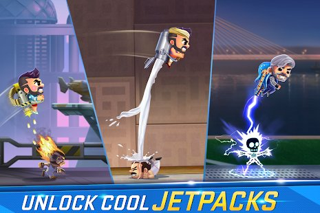 Скриншот Jetpack Joyride India Exclusive