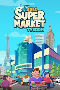 Скриншот Idle Supermarket Tycoon - Shop