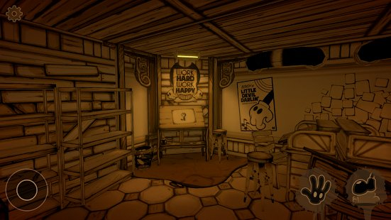 Скриншот Bendy and the Ink Machine