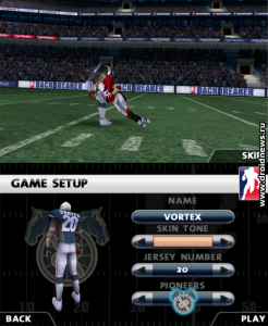 Backbreaker Football THD