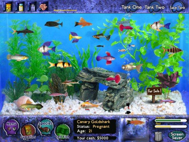 "Игра ""Fish Tycoon"" для планшетов на Android"