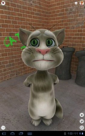 Talking Tom Cat взломанная версия 2.5