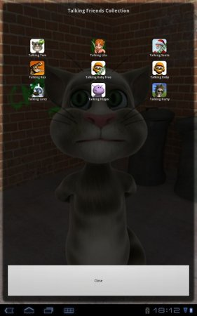 Talking Tom Cat взломанная