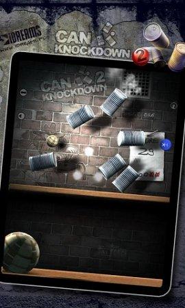 Can Knockdown 2 - сбиваем банки мячиком