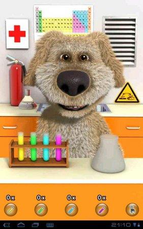 Talking Ben the Dog версия 1.0.1 - говорящий пёсик