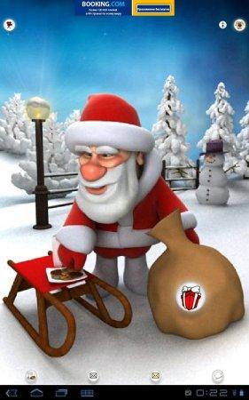 Talking Santa Free версия 1.1.5