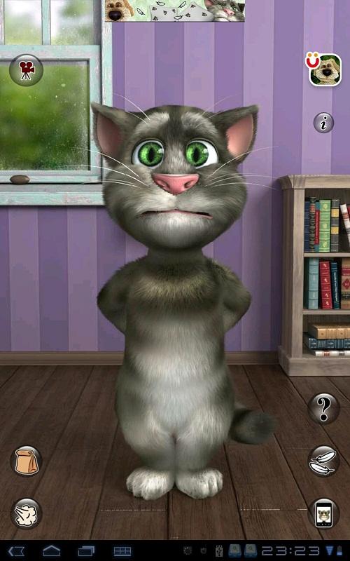 Как играть в talking tom cat