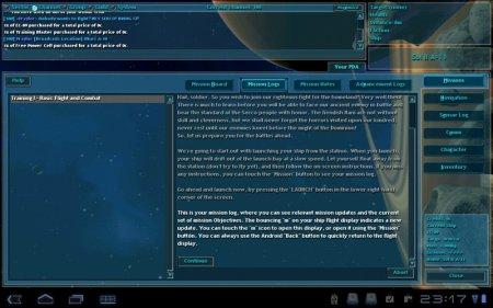 Vendetta Online, 3D MMORPG на NVIDIA Tegra 2