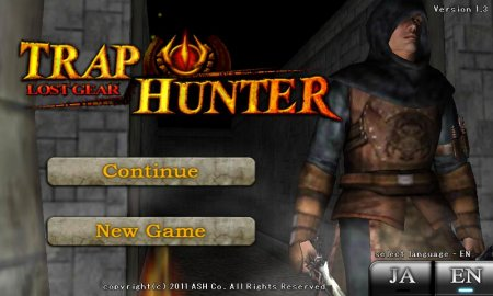 TRAP HUNTER – LOST GEAR