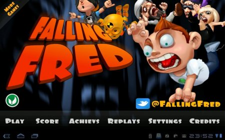 Falling Fred ������: 1.0.8