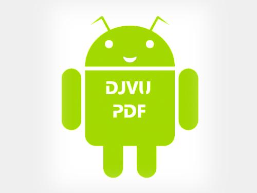 VuDroid  - программа для чтения форматов Djvu