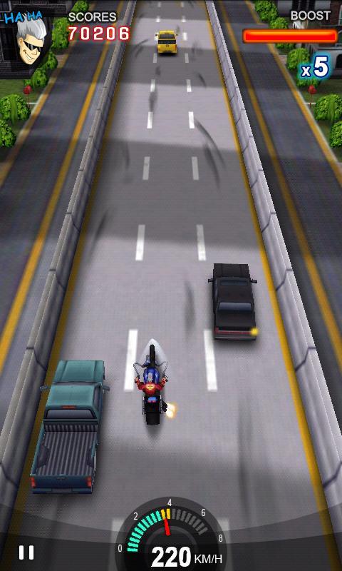 Скачать игру на андроид lane splitter