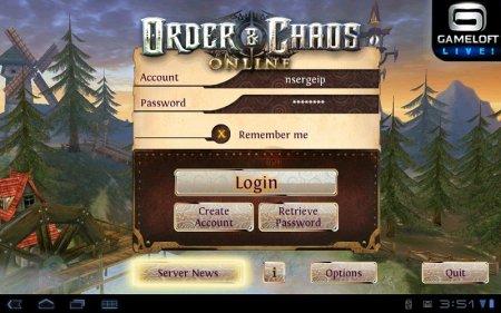 Order & Chaos Online (Войны хаоса и порядка онлайн) v2.6.0o