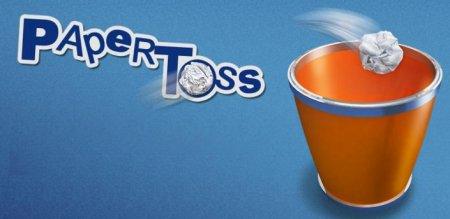 Paper Toss версия 1.0.9