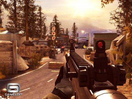 Третья часть знаменитой игры от Gameloft. Modern Combat 3: Fallen Nation.