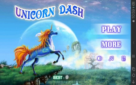 Unicorn Dash v.1.0
