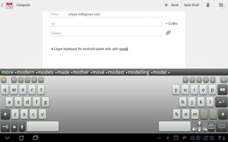 A.I.type Tablet Keyboard (обновлено до версии 1.2.3)
