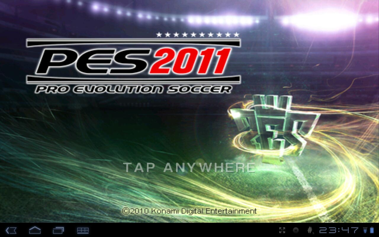 Скачать футбольный симулятор PES на Android +