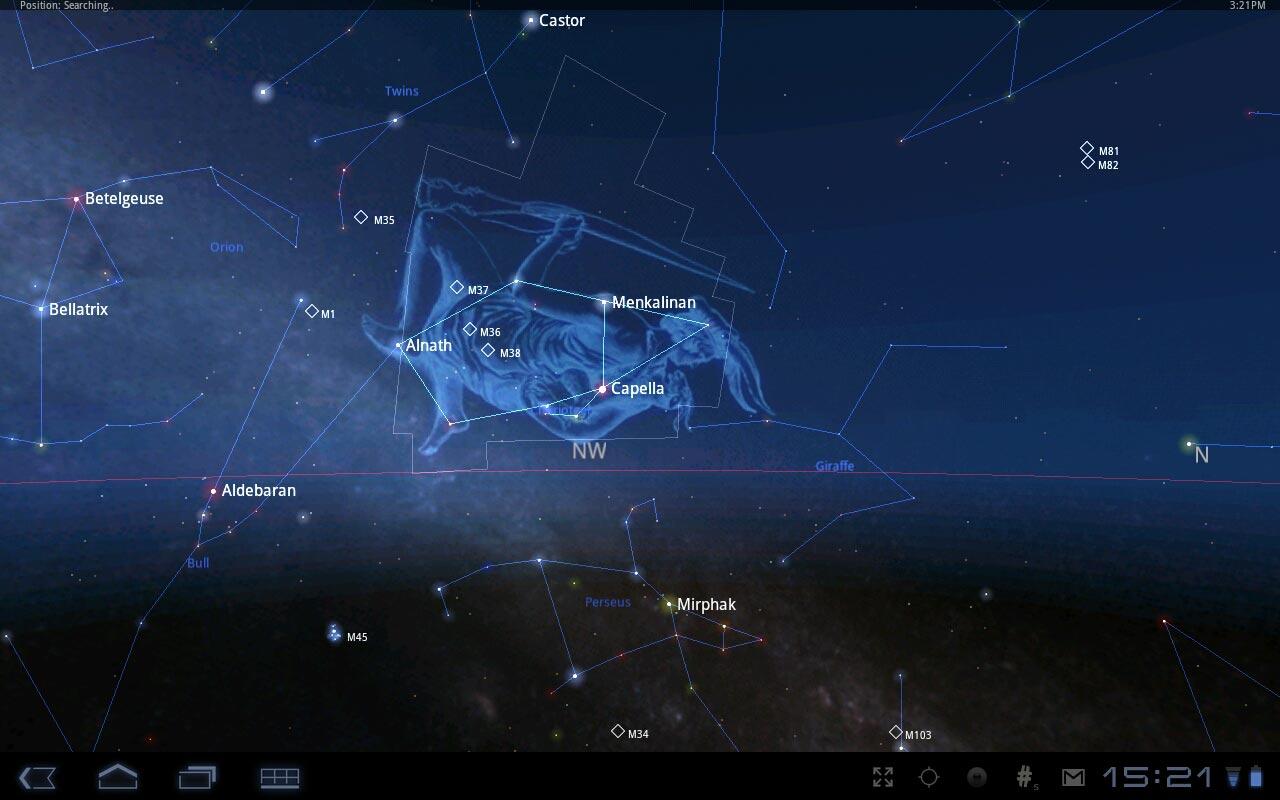 """Звездная карта """"Star Chart"""" для планшетов на Android"""