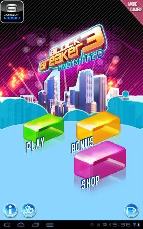 Block Breaker 3 Unlimited версия 1.3.5
