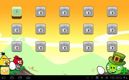 Angry Birds Seasons HD v1.3.0 Версия для планшетов