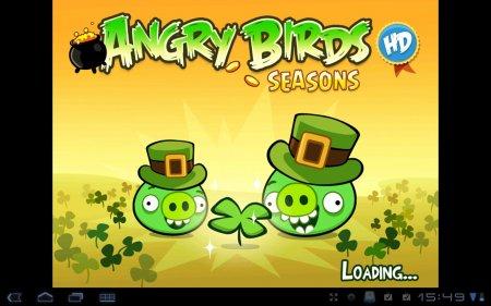 Angry Birds Seasons HD  Версия для планшетов