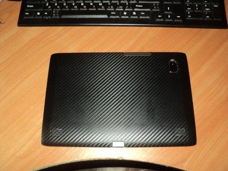 Обклеивание планшета пленкой carbon3d