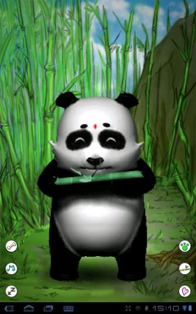 Talking Lily Panda Free версия 1.9