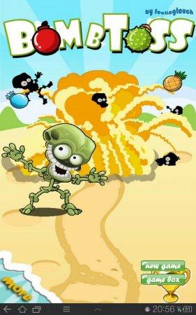 Bombs vs Zombies (Bomb Toss)