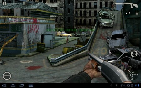 3D-тир Contract Killer Zombies для планшетов на Android