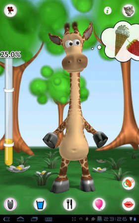 Talking Gina the Giraffe Free версия 1.1.1