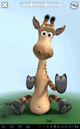 Talking Gina the Giraffe Free версия 1.1.1
