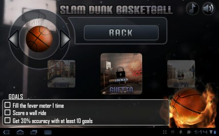 Slam Dunk Basketball версия 1.0.4