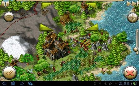 Стратегия The Settlers HD для планшетов на Android