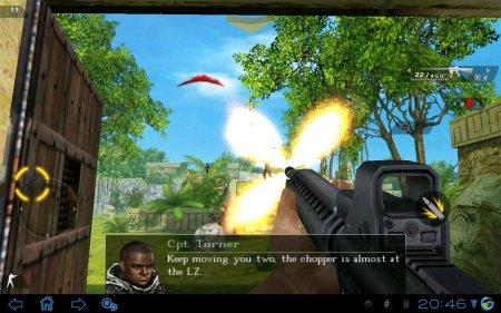 Modern Combat 2: Black Pegasus HD версия 1.0.0 (обновлено до версии с управлением на полный экран, спасибо ERCore)