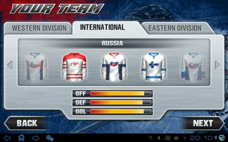 Hockey Nations 2011 THD (обновлено до версии 1.0.3)