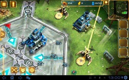 Стратегия Starfront Collision HD для планшетов на Android