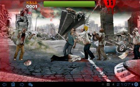 Зомби Fury 2 версия 1.0.3