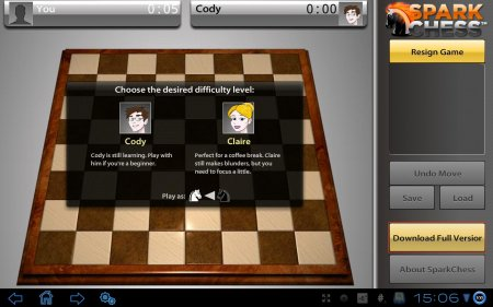 SparkChess HD Lite версия 1.4.9