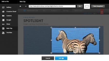 Adobe® Collage версия 1.0.0