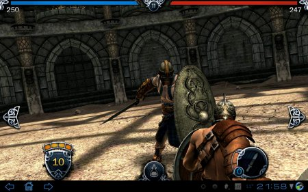 3D шутер Blood and Glory для планшетов на Android