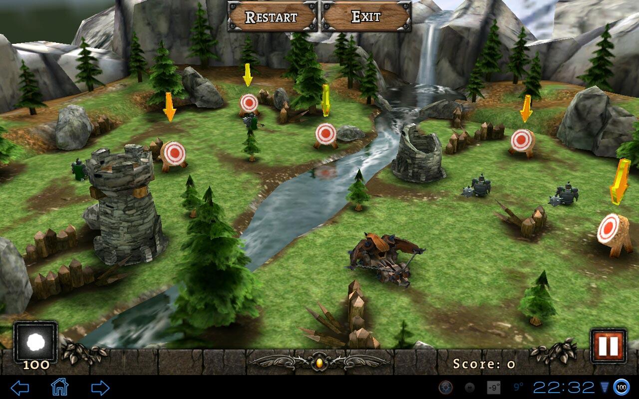 """Игра """"Siegecraft THD"""" для планшетов на Android"""