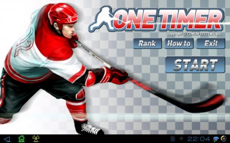 Ice Hockey - One Timer