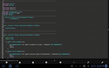 DroidEdit Pro (code editor) (обновлено до версии 1.17.2)