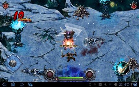 Аркада Eternity Warriors для планшетов на Android